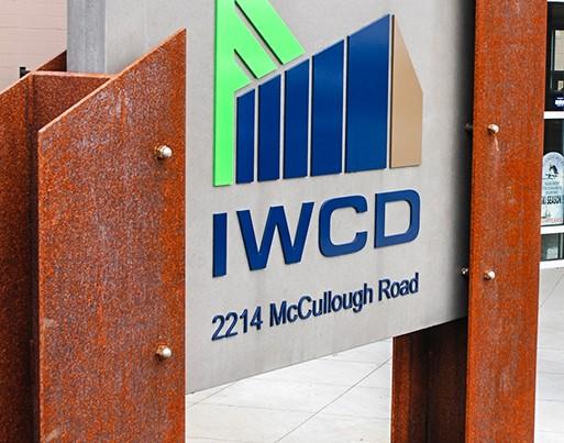 IWCD entrance sign