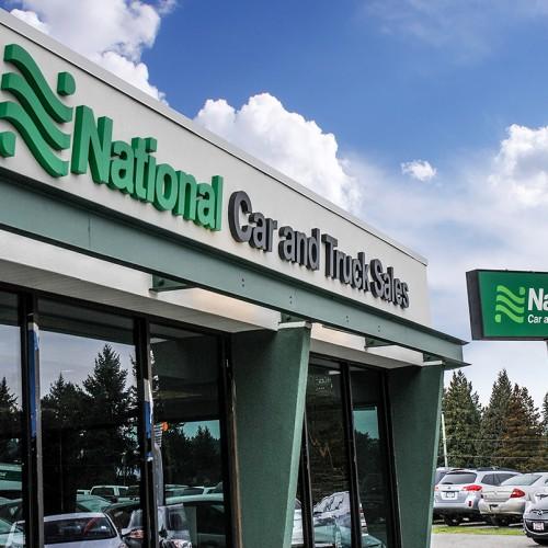 National Car Rental: Caya Signs Nanaimo